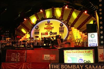 Garba stage